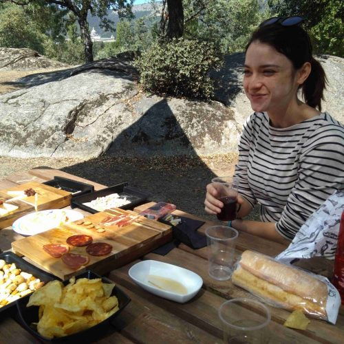 horse riding madrid tapas picnic