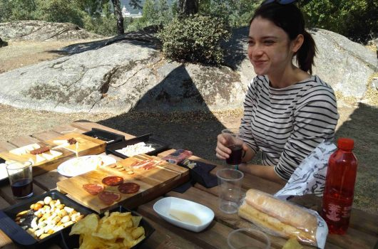 horse riding madrid tapas picnic